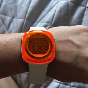 adidas Accessories - Orange and white adidas Watch